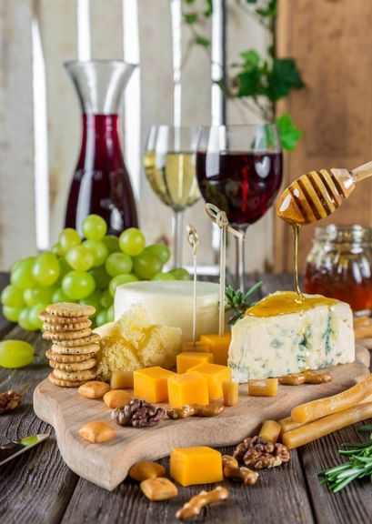 チーズとワインのマリアージュ