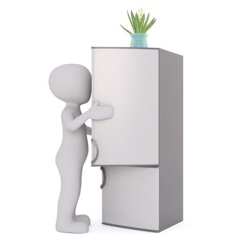 冷蔵庫の絵